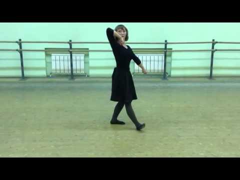 учим медленно движения лезгинки - YouTube