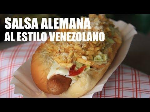 Receta Salsa Alemana (al estilo Venezolano)