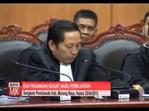 Hasil Pemilukada Kabupaten Murung Raya Digugat ke MK