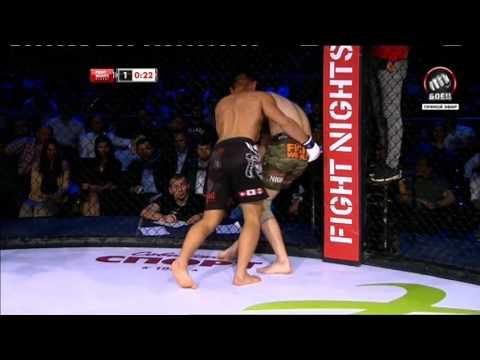 Ясубей-Эномото  Станислав Молодцов ( Смешанные Единоборства Fight Nights)