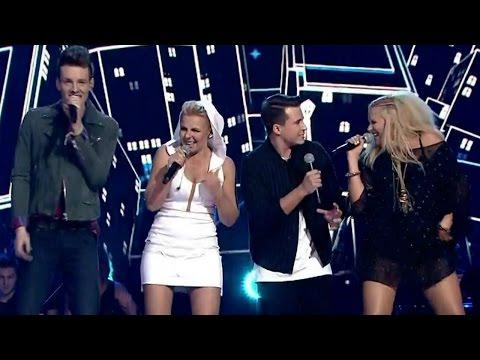 "The Voice of Poland VI - Maria Sadowska z drużyną -  ""Beat it"""