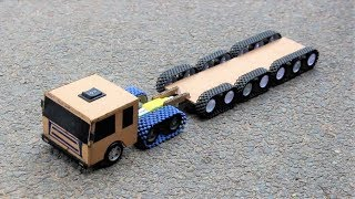 How To Make a Simple Battery truck