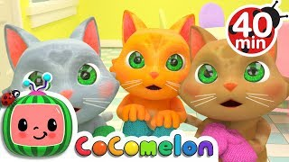 Three Little Kittens | + More Nursery Rhymes & Kids Songs - ABCkidTV