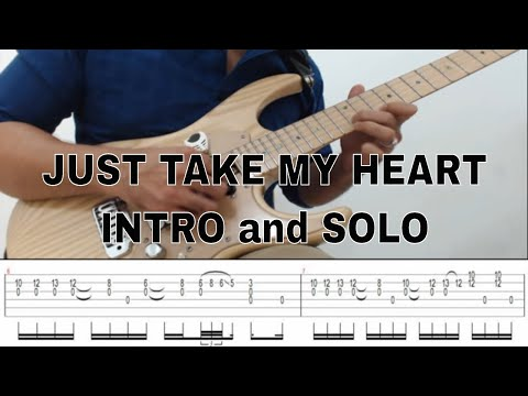 Just Take My Heart Intro and Solo with Tabs - Alvin De Leon