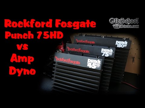 1991 Rockford Fosgate Punch 75HD Amp on the Amp Dyno