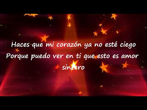 Amor Sincero - Alexander Acha (con letra) [Tema Principal de Un Refuigio Para El Amor]