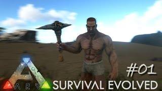 Ark Survival Evolved Ep 01 - Epic Adventure Begins (Server Let