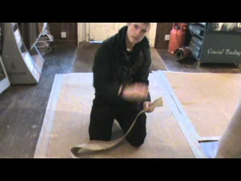 Easy home rug binding with Luke Tench