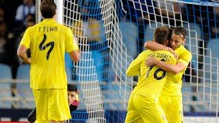 Real Sociedad 0-2 Villarreal Jornada 16 LaLiga 2015/16