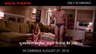 Sex Tape Movie - Official International Trailer -  Khmer Sub