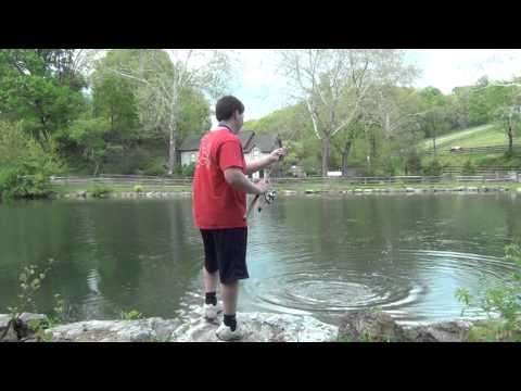 Spring Largemouth Bass Fishing PA 2012 #1