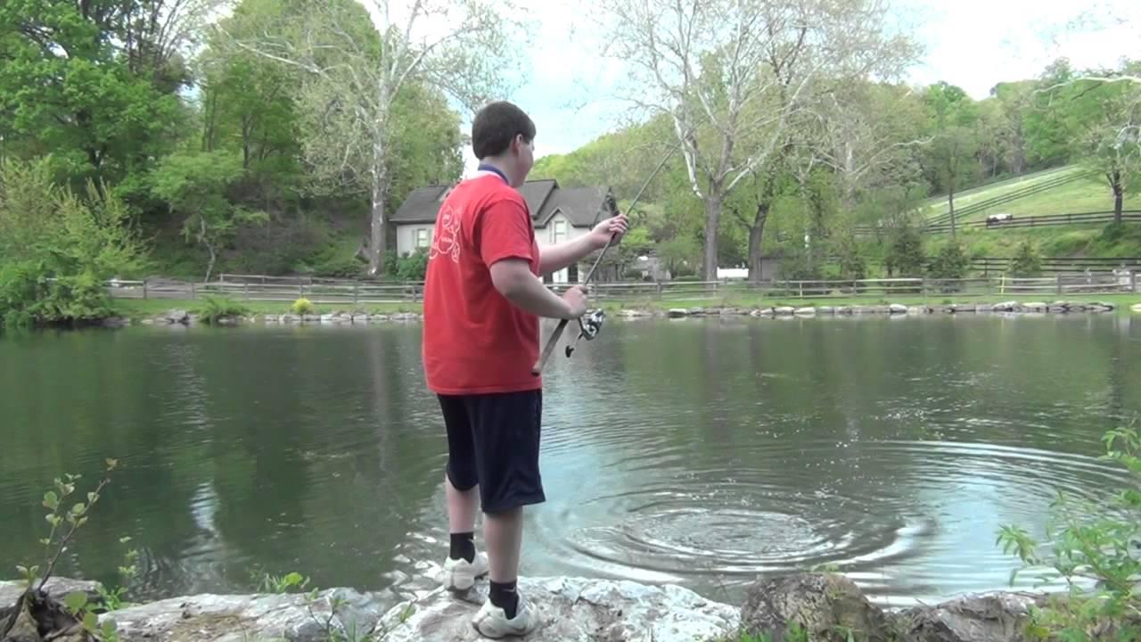 Spring Largemouth Bass Fishing PA 2012 #1 - YouTube