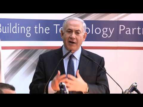 PM Netanyahu and PM Cameron Visiting Teva Pharmaceuticals