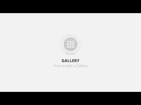 Gallery WordPress Plugin - How to add a gallery
