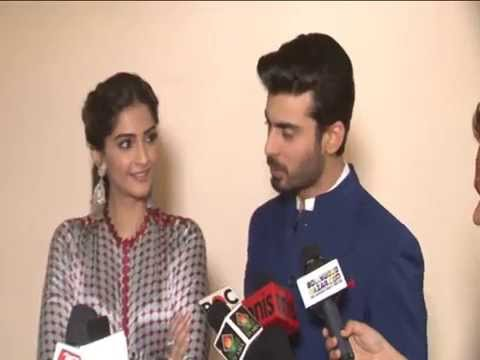 Sonam Kapoor And Fawad Khan On Entertainment Sets