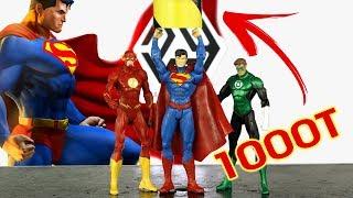 Experiment Hydraulic Press VS SuperMan | The Crusher