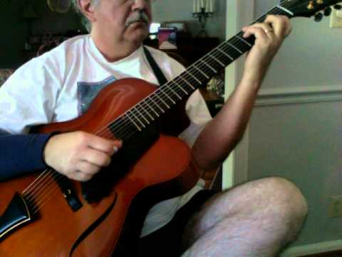Sutton Mutton by Carl Kress, on Megas archtop 7-string
