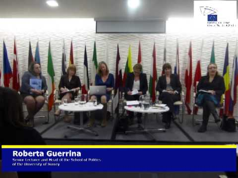 debate on what has the EU done for gender equality - Dr. Roberta Guerrina