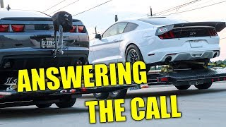 Twin Turbo Camaro challenges all street cars for $500!