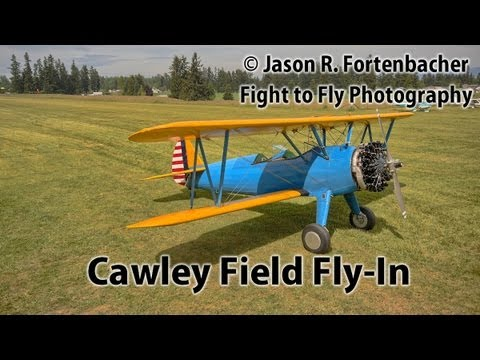 Cawley Field Fly-In - Stearman, PT-22, Cessna, Piper, Etc.