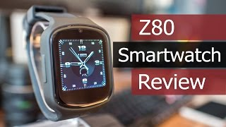 Z80 Smartwatch Review | Android 5.1 MTK6580 - SIM Slot