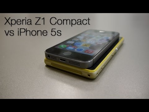 Comparativa Sony Xperia Z1 Compact vs iPhone 5s