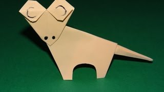 How To Make An Origami Gecko - Kirigami