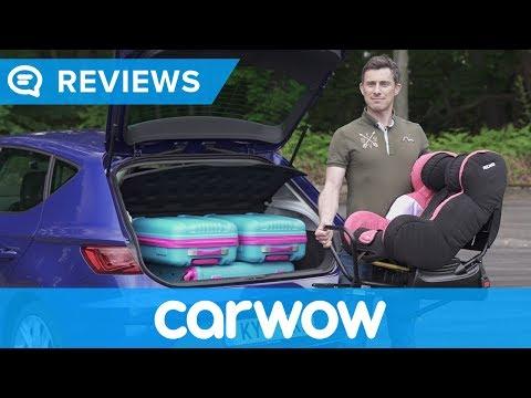 SEAT Leon 2017 practicality review   Mat Watson Reviews
