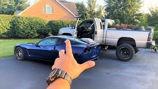 AFTER 9 MONTHS... MY 1,000HP TWIN TURBO 8 SECOND CORVETTE IS HOME!!! *First TERRIFYING Drive!*