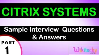 Citrix Systems Intern Showcase