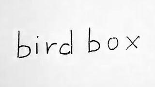 How to draw bird box / Bird Box Art Challenge