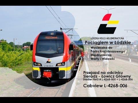 Łódzka Kolej Aglomeracyjna | Pociągiem W Łódzkie | Cabview L-4268-006