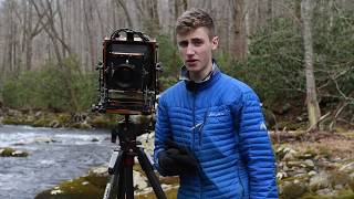 Large Format in Great Smoky Mountains NP: Long Exposures and Waterfalls