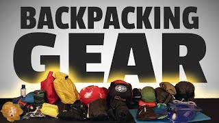Backpacking Gear for a 3-Day Hike
