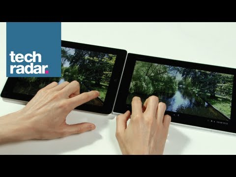 Sony Xperia Tablet Z vs iPad 4: Hands-on