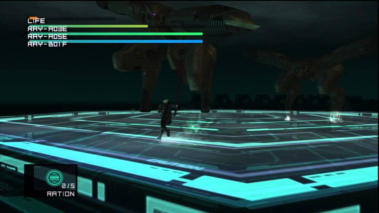 Gear Ray Metal Gear Ray Boss Fight
