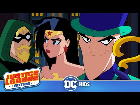 Justice League Action | Follow The Clues | DC Kids