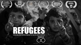 Refugees 360 VR documentary  - Awarded Best Independent film by Scopic.