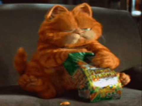 Garfield eating goldfish youtube - Garfield et cie youtube ...
