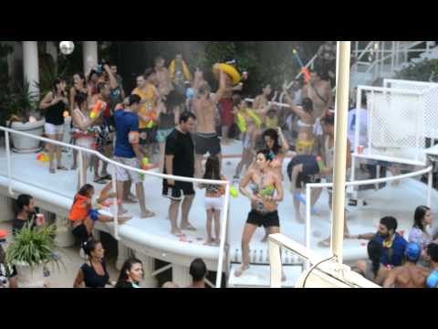 Brianne at Es Paradis Private Water Party - Ibiza