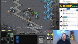 스타1 StarCraft Remastered 1:1 (FPVOD) Larva 임홍규 (T) ]777[ (P) Benzene 벤젠