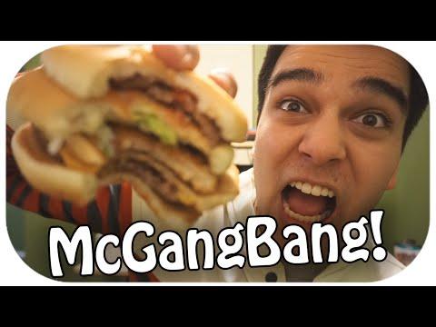 The McGangBang! McDonald's FOOD REVIEW!