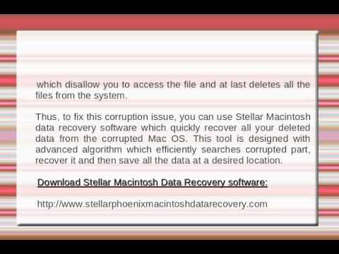 Review of Stellar Macintosh Data Recovery Software
