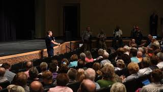 U.S. Rep Justin Amash defends his impeachment comments at town hall
