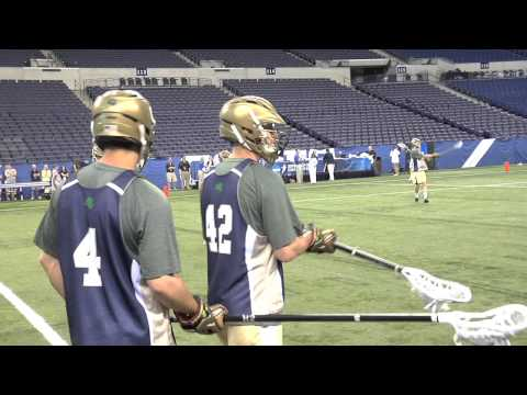 Notre Dame Lacrosse In Lucas Oil Stadium