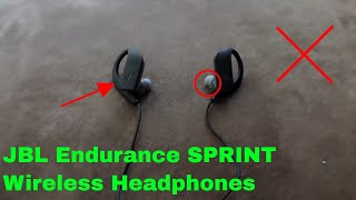 ✅  How To Use JBL Endurance SPRINT Wireless Headphones Review