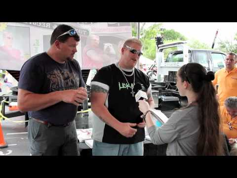 LIZARD LICK TOWING Interview With Pavlina Lake Buena Vista, FLorida 2012