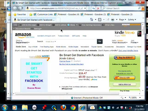 How To Become an Amazon Affiliate and Associate Part 1 of 2