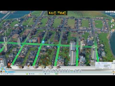 SIM CITY 5 Gameplay; building casinos