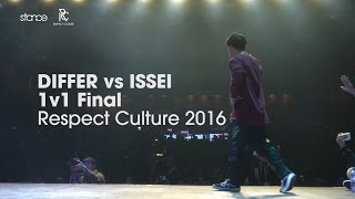Differ vs Issei  [finał] // Respect Culture 2016